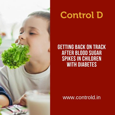 Getting Back on Track after Blood Sugar Spikes in Children with Diabetes