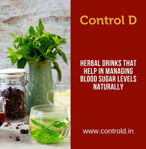 Herbal Drinks that help in managing Blood Sugar Levels Naturally