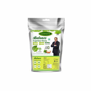 Control D Balance Natural Diabetic, Keto & Health friendly Sugar Free Sugarless Sweet Methi Tulsi Stevia Sweetener