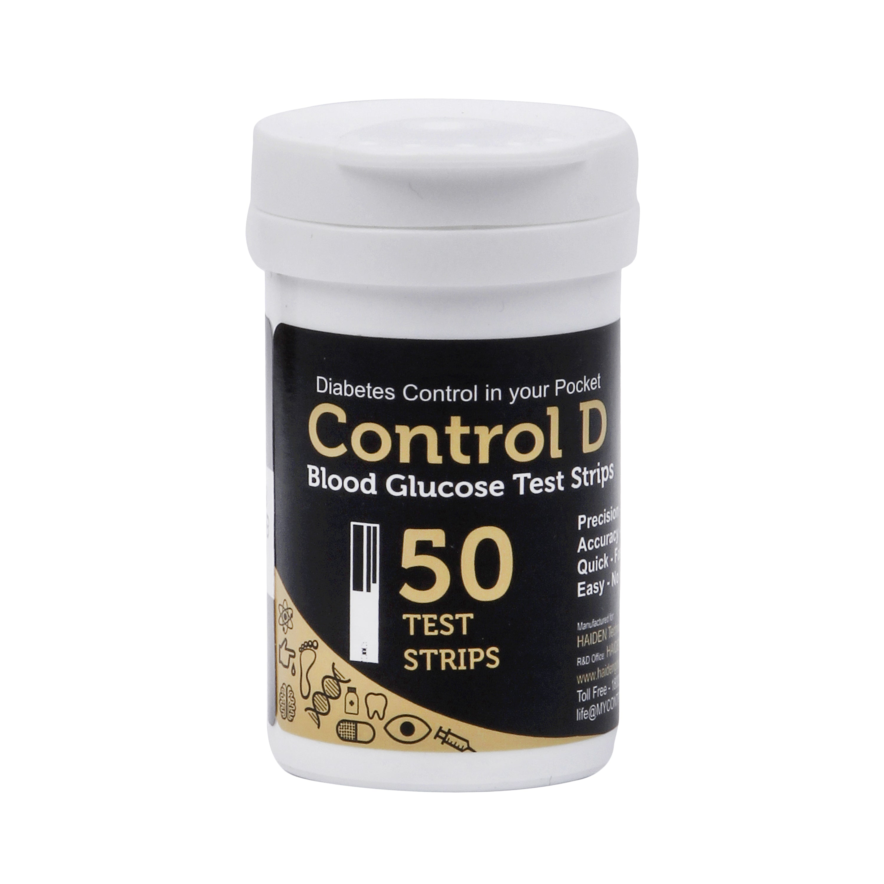 Control D 50 Strips