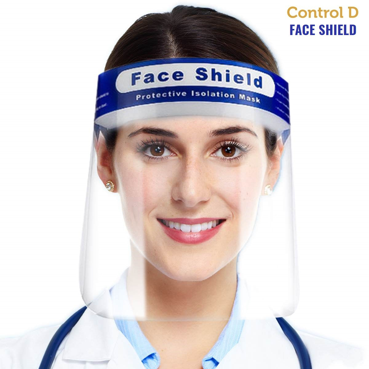 Control D Face Shield - Pack of 5 Shields