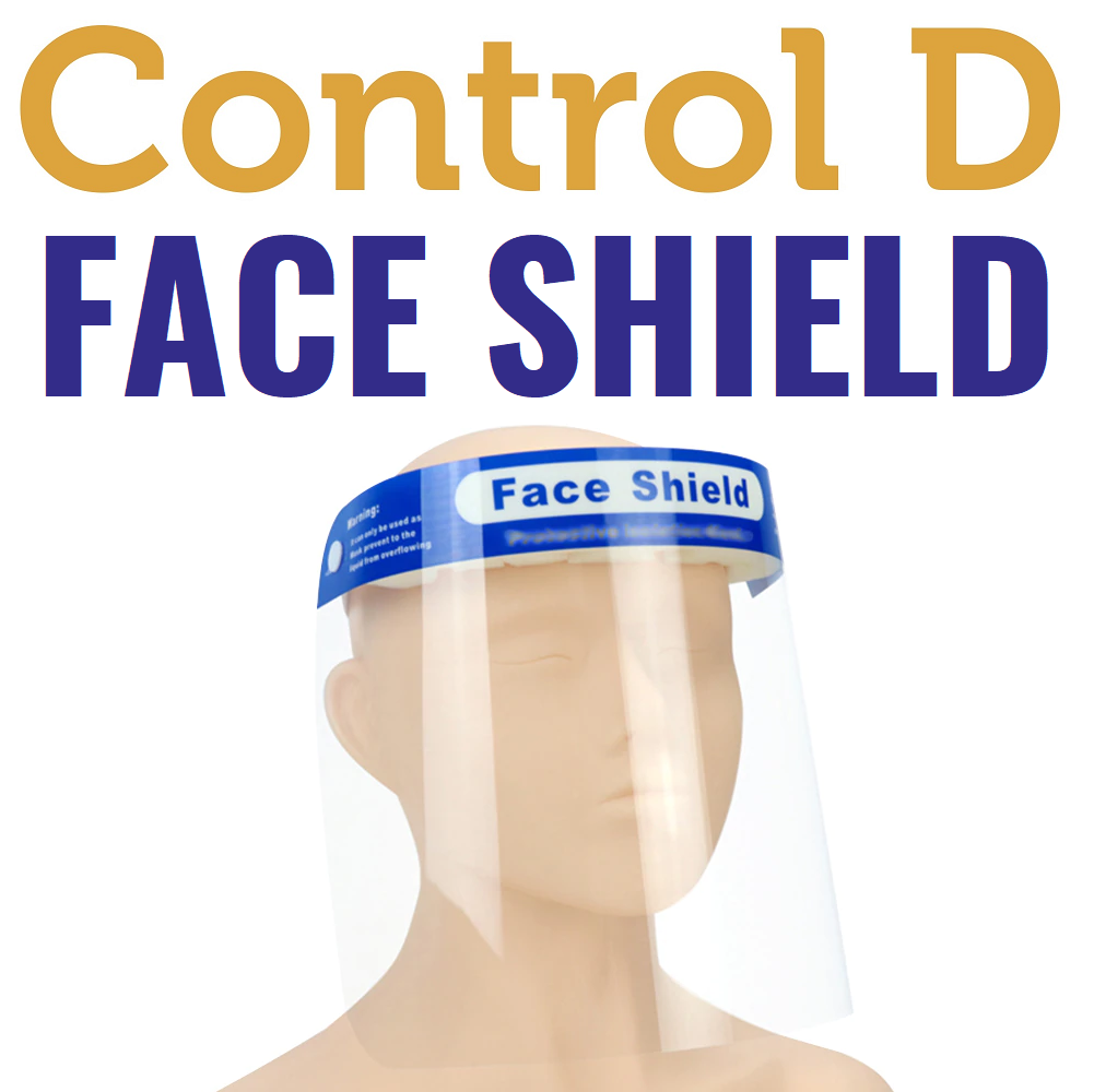 Control D Face Shield - Pack of 5