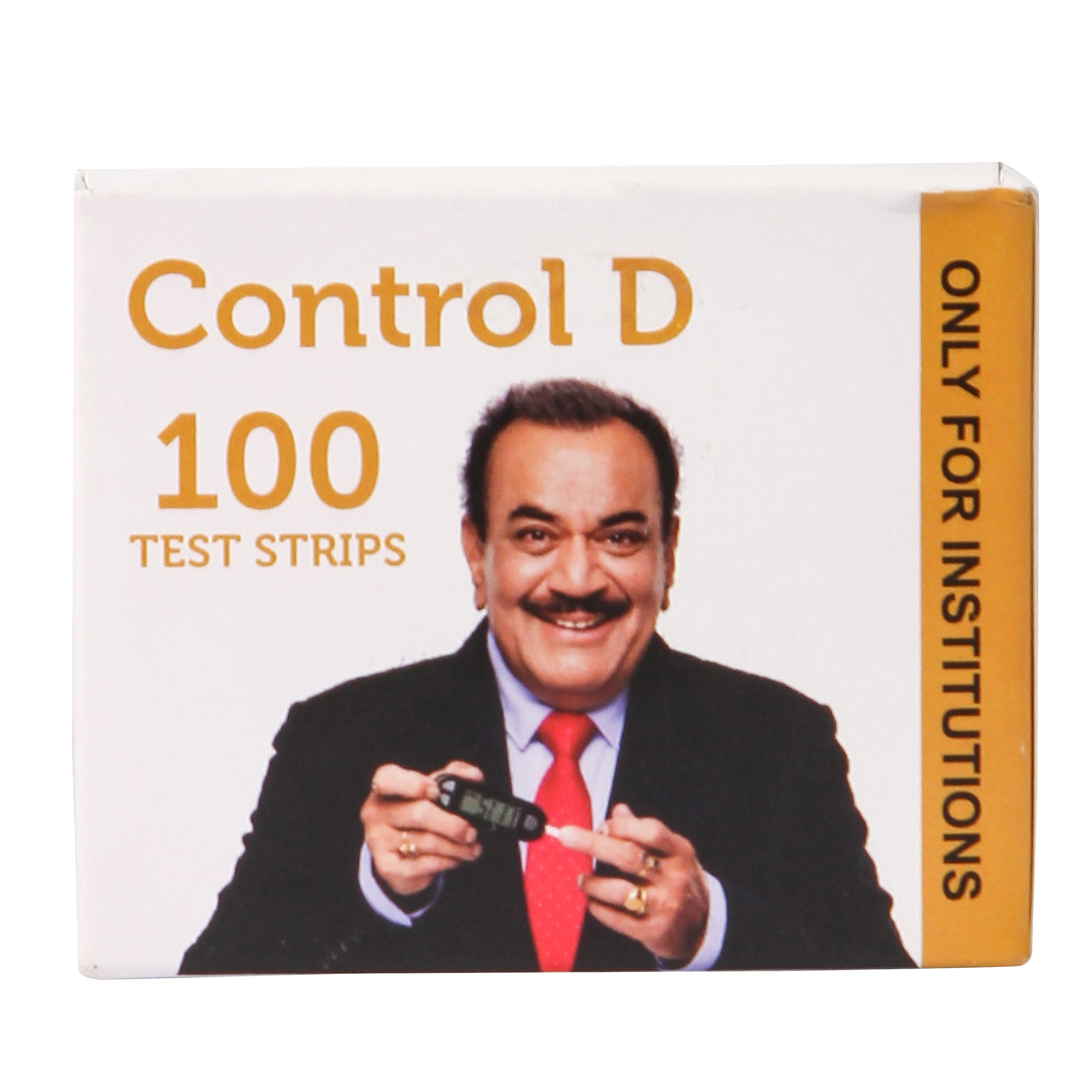 Control D 100 Test Strips for Hospitals & Institutions