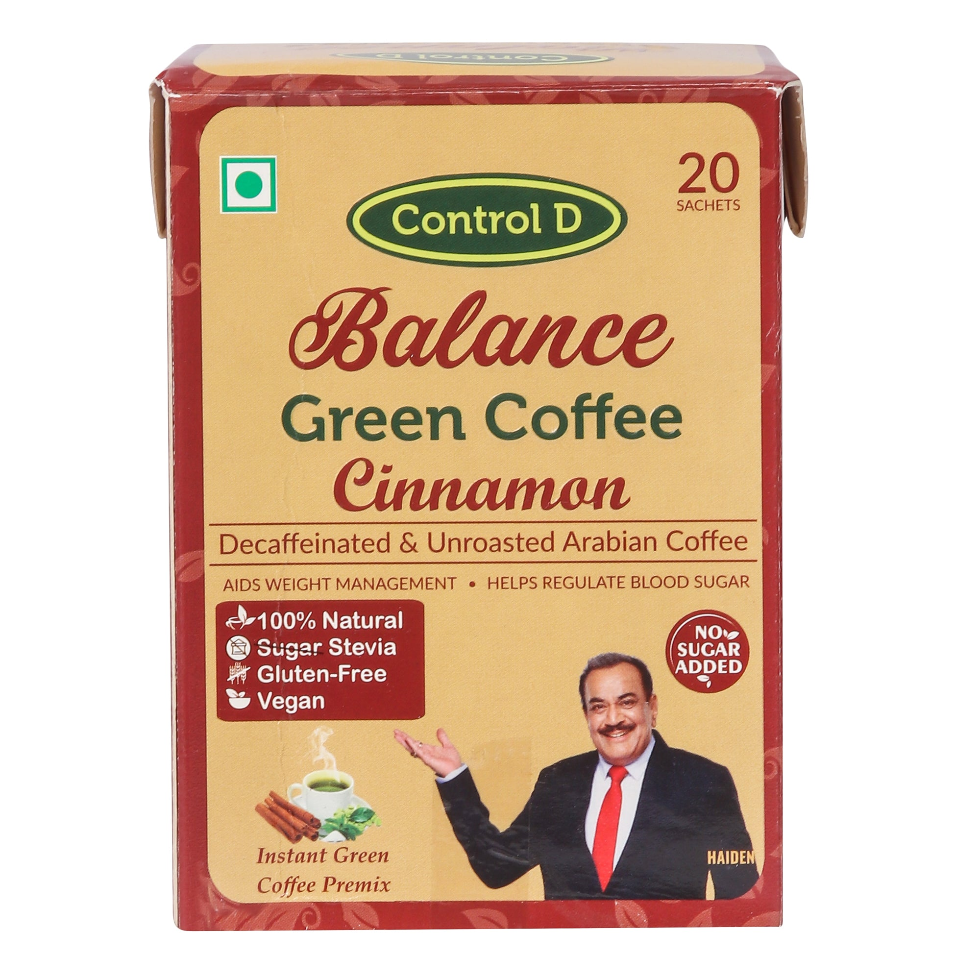 Balance Cinnamon Green Coffee