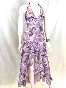 Ola Purple Flower Dress