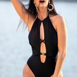 Black Pool One Piece