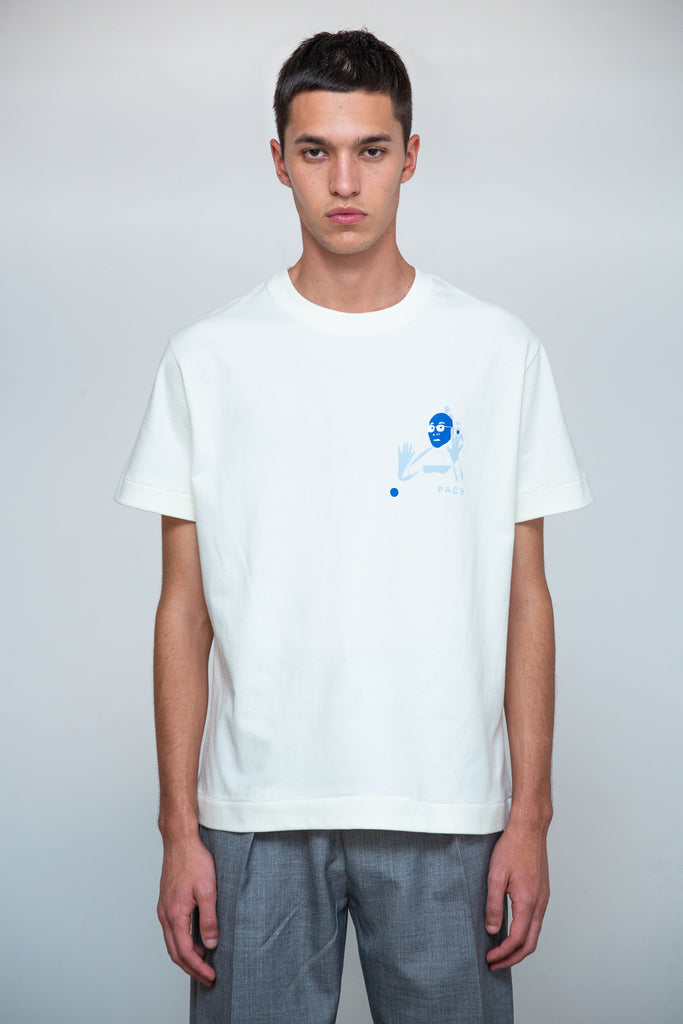 OMEDETOU T-SHIRT OFF WHITE