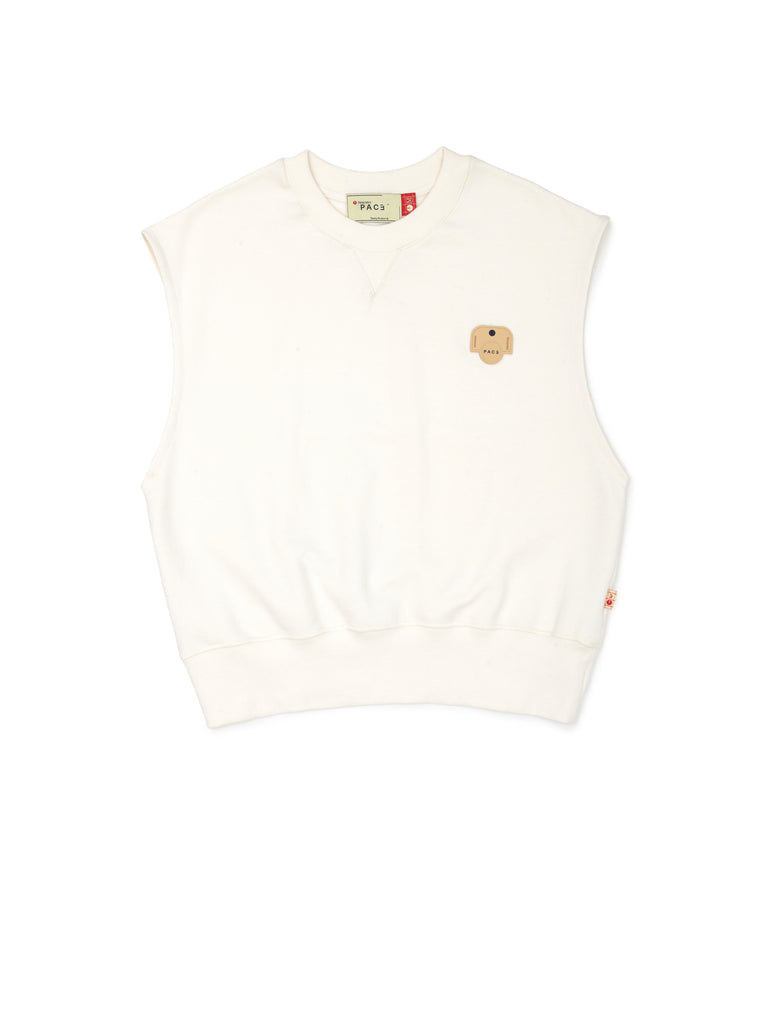 HOM GILET OFF WHITE