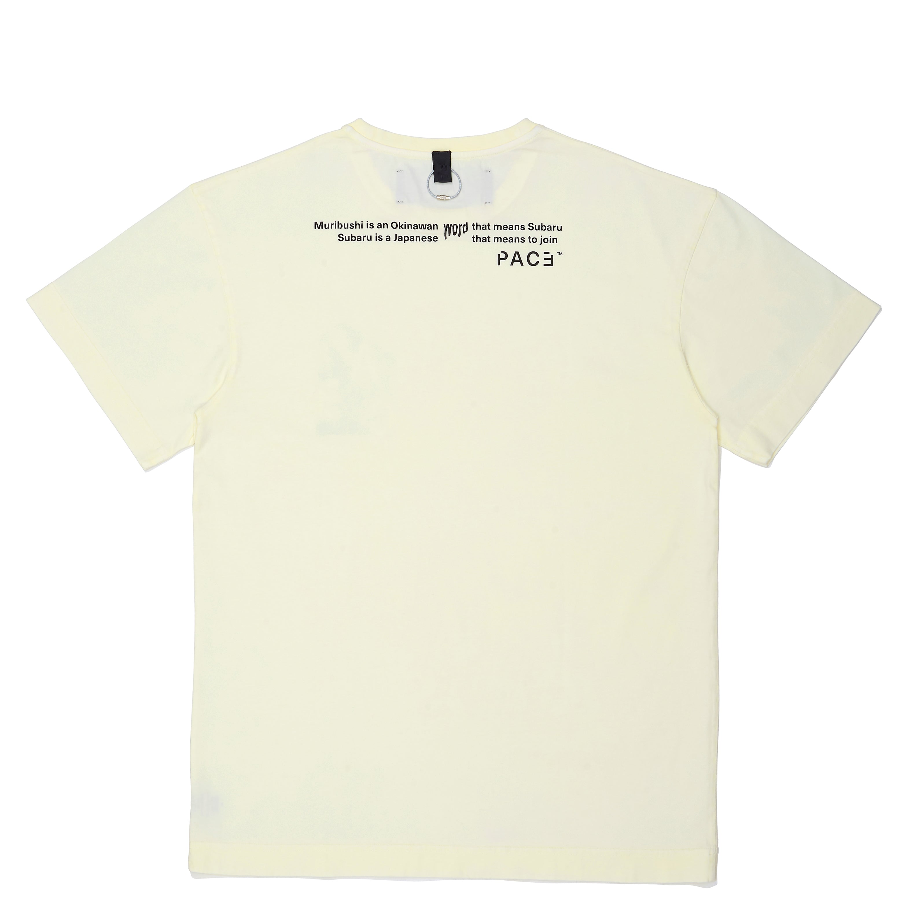 MRBSH2 T-SHIRT OFF WHITE PACE ™ (camiseta off white com arte no topo costas)