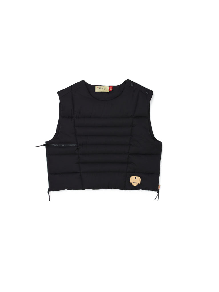 BULLET BUBBLE VEST BLACK