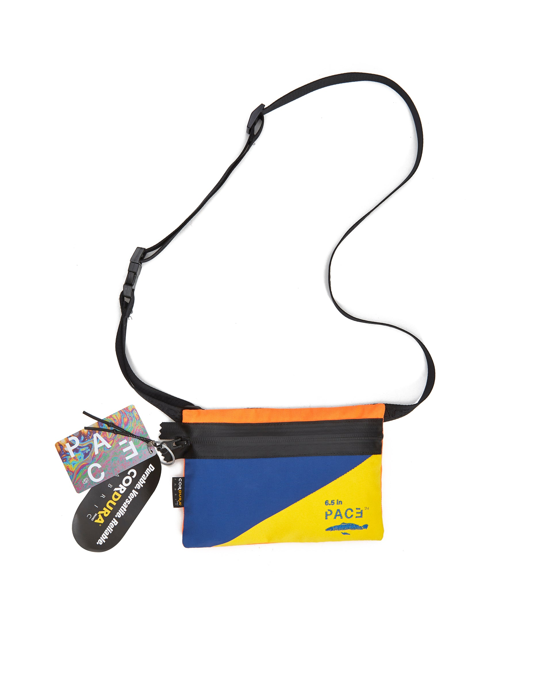 POCKET BAG CORDURA® BLUE/YELLOW
