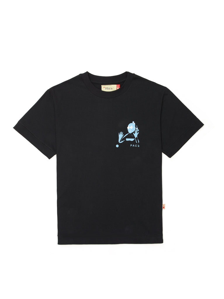 OMEDETOU T-SHIRT BLACK