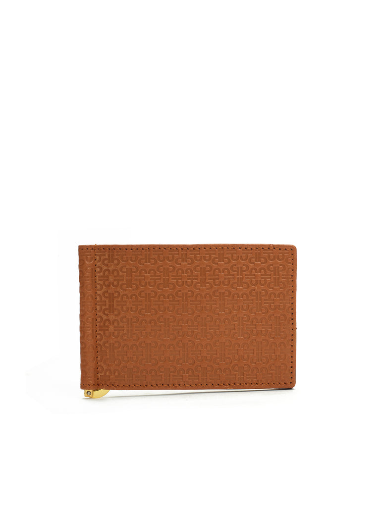 MONEY CLIP CARAMEL