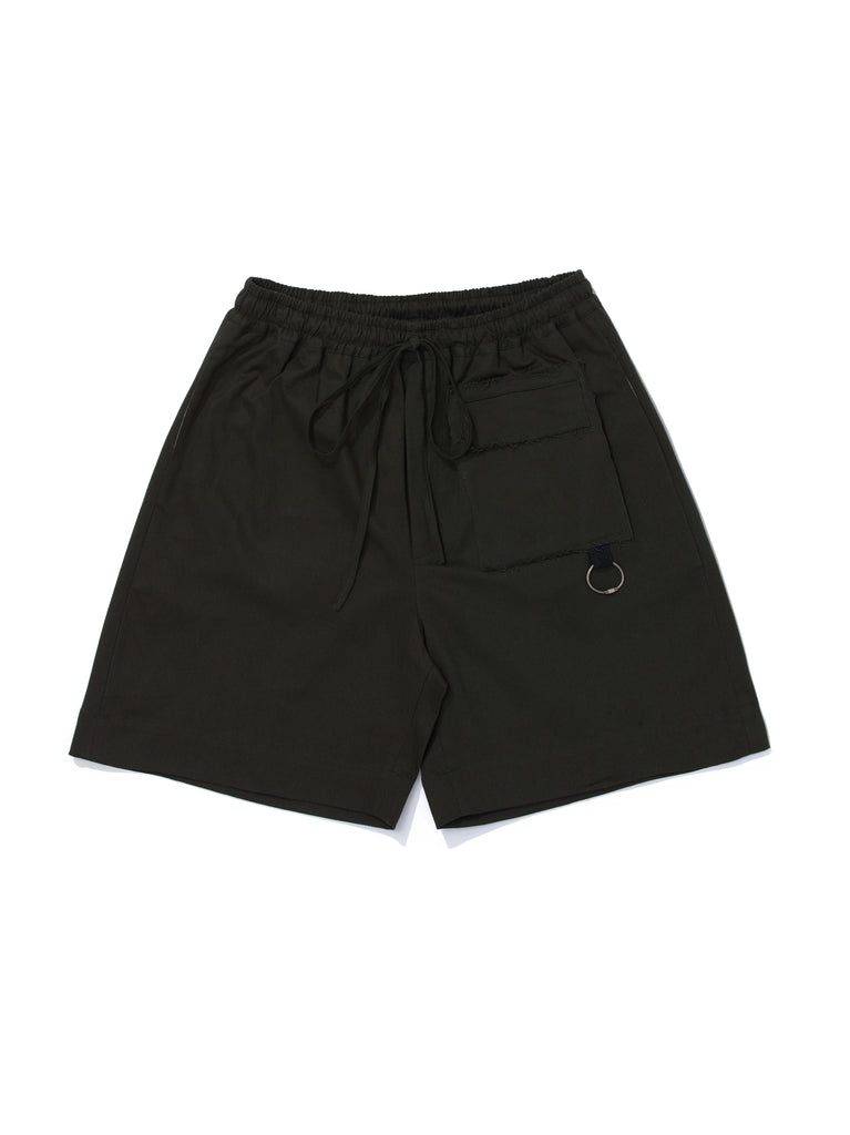 PEACE SHORT GREEN