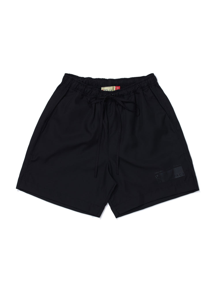NYLON-SHORTS BLACK
