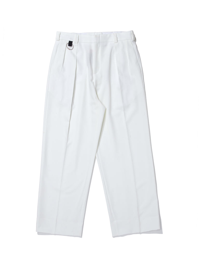 TAMEMASA WIDE TROUSERS OFF WHITE