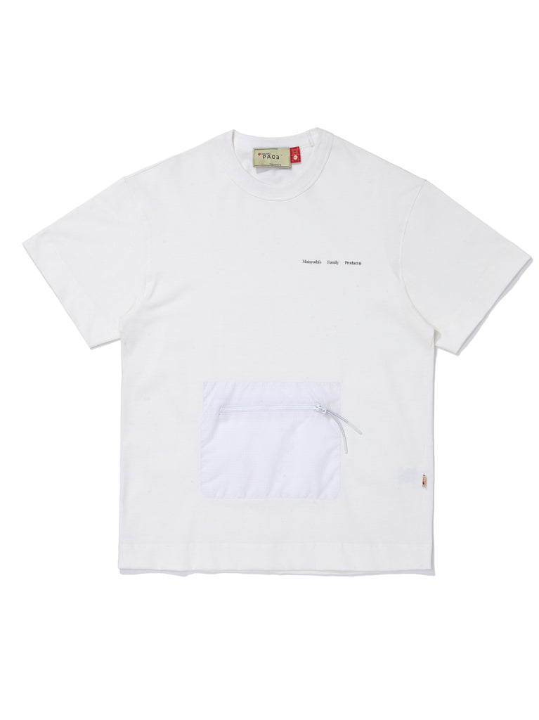 EY-UTILITY T-SHIRT OFF WHITE