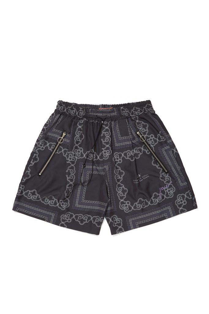 KINGDOM CLOUDS BOXER SHORTS BLACK