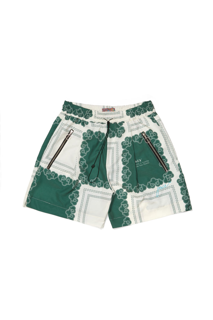 KINGDOM CLOUDS BOXER SHORTS GREEN
