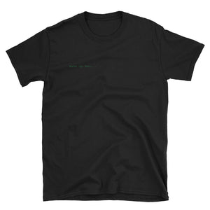 Discrete, wake up Neo Short-Sleeve Unisex T-Shirt