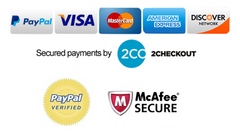 Secured Payment by 2Checkout