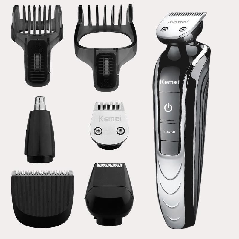 Electric 5 in 1 Professional Rechargeable Hair Trimmer Cordless Shaver - iDigiBay