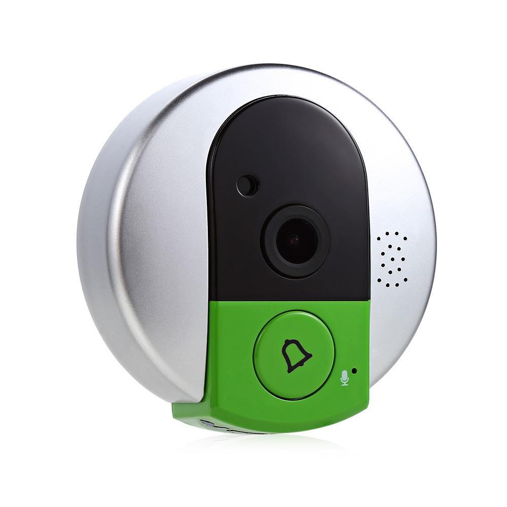 720P Wireless WiFi Security Night Vision Two Way Audio IP Door Camera - iDigiBay