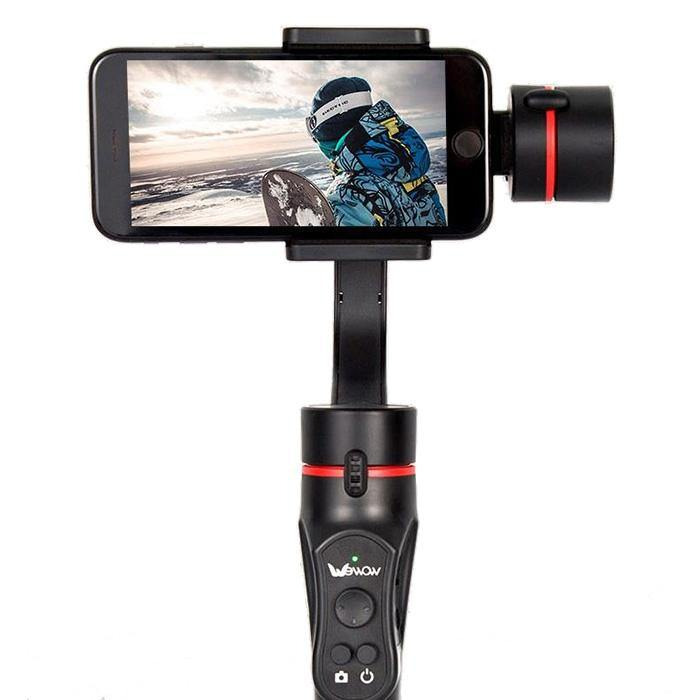 Wewow A5 Three-axis Intelligent Hand-held Smartphone Gimbal Stabilizer - iDigiBay