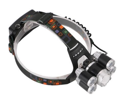 12000Lm XML T6 5 LED Headlight 4 Modes Outdoors Camping Torch - iDigiBay