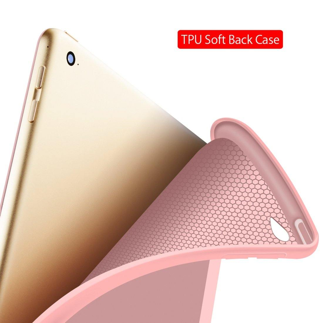 Ipad 9.7 Protective Pu Ultra-thin Cover with Auto Wake/Sleep - iDigiBay