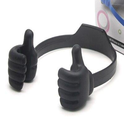 Portable Mobile Cell Phone Tablet Thumb Holder - iDigiBay