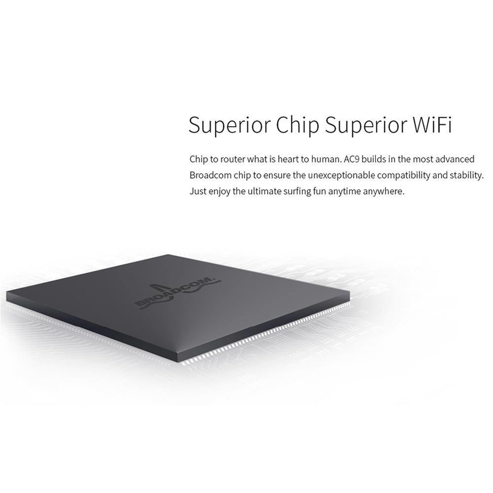 Smart Dual-Band 802.11AC 2.4G/5G Gigabit Wireless WiFi Router Repeater - iDigiBay