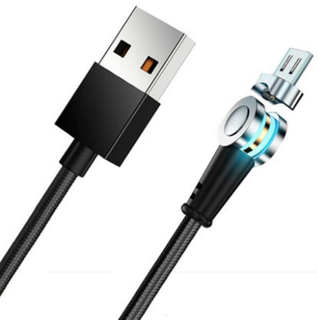 Rotate 180 Degree Magnetic 5A Fast Charging USB Cable - iDigiBay
