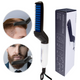 Multifunctional hair comb beard brush straightener