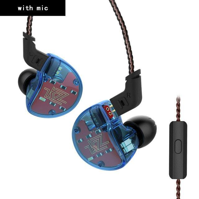 KZ ZS10 Hybrid In Ear Headphone HIFI Bass Headset - iDigiBay