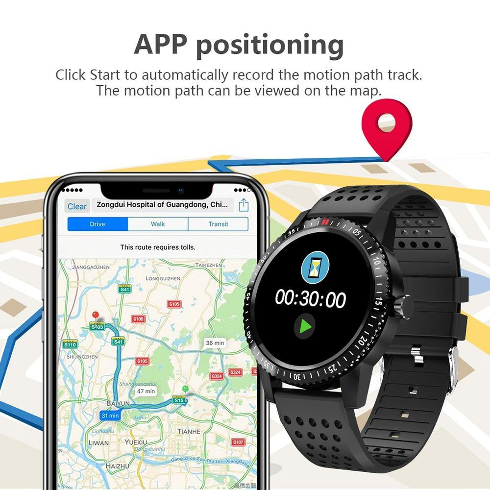 T1 Waterproof IP67 Fitness Bracelet GPS tracker,Heart Rate Monitor,Smart Band - iDigiBay