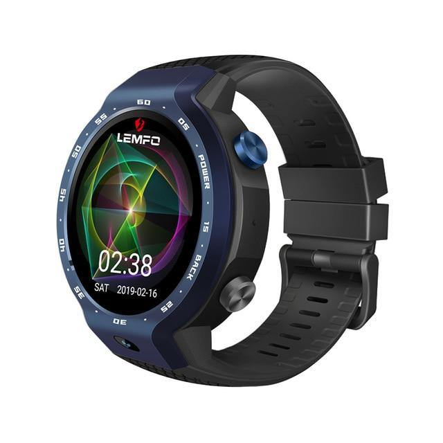 Dual system Smart Watch With 4G Sim Enable , 5MP Front Camera & 600MAH Battery For Android - iDigiBay