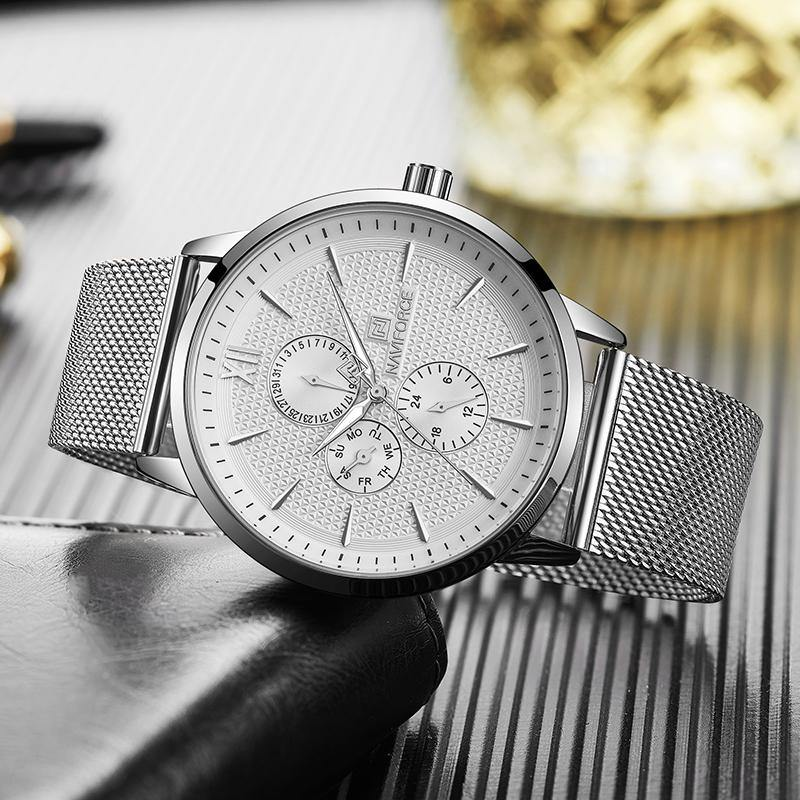 Men's Luxury Waterproof Ultra Thin Full Steel Casual Quartz Watch - iDigiBay