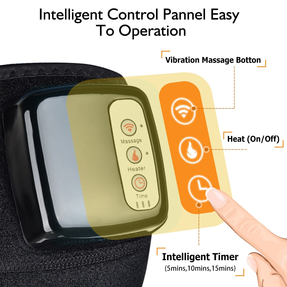 Electric Heating Knee Elbow Massager