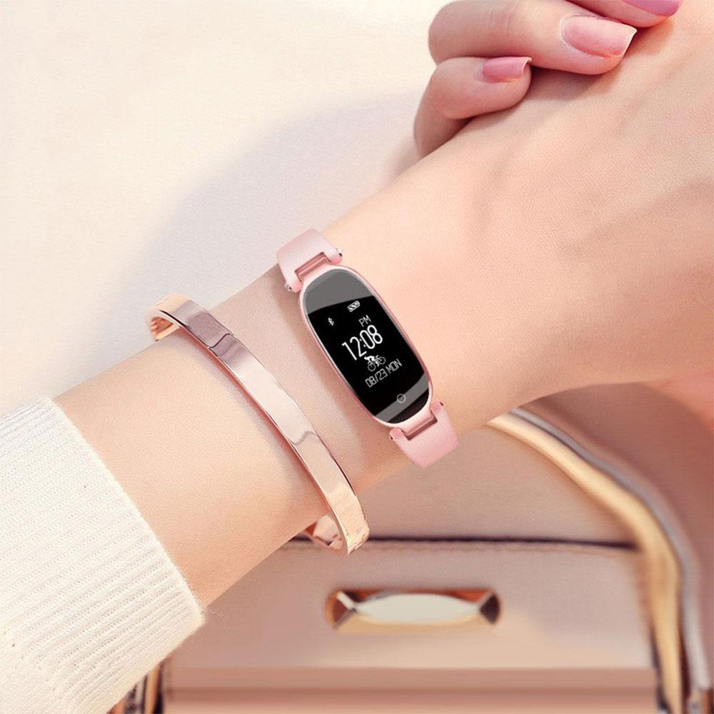 S3 Women Wristband Fitness Bracelet Heart Rate Monitor IP68 Waterproof Smart Watch - iDigiBay