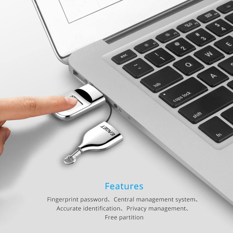 Fingerprint Recognition USB Flash Drive USB 2.0 Pendrive - iDigiBay