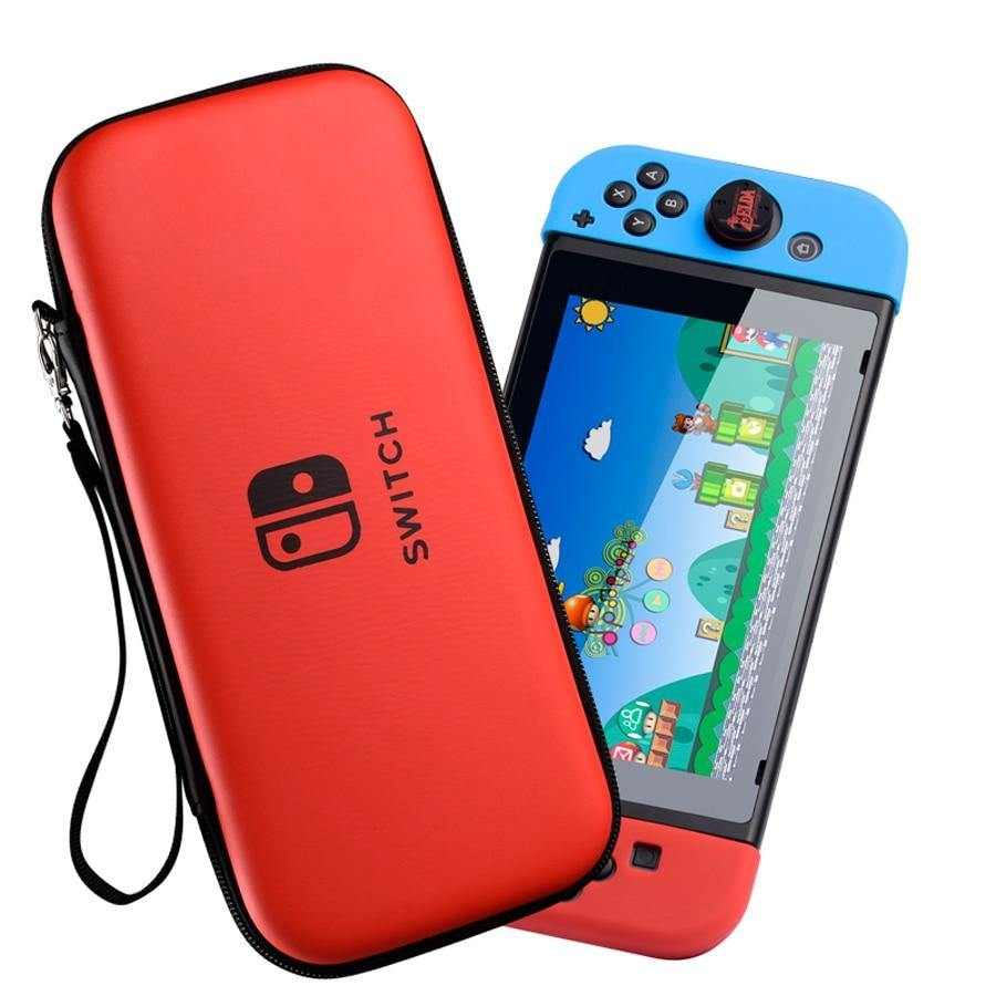 Nintendo Switch Case Portable Waterproof Hard Protective Storage Bag for Nintendo - iDigiBay