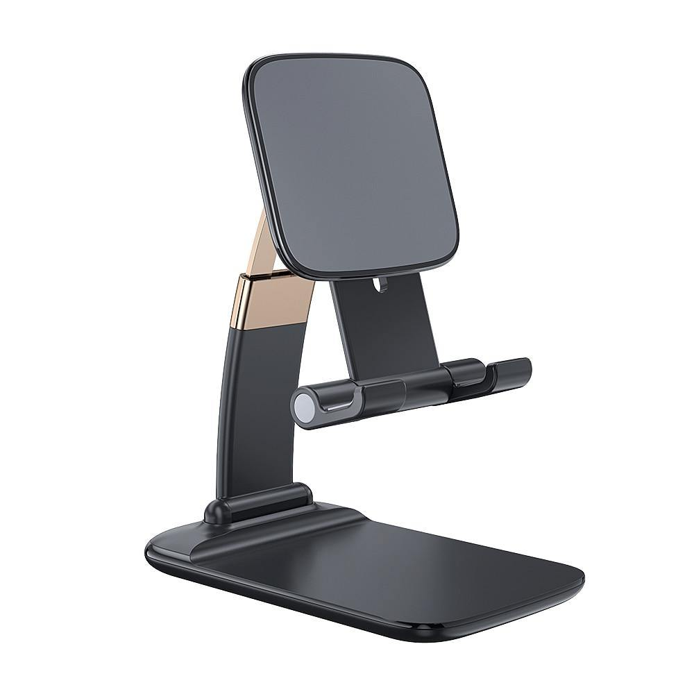 Foldable Desk Mobile Phone Holder. Essager Stand For iPhone iPad Pro Tablet. Flexible Gravity Table Desktop Cell Smartphone Stand - iDigiBay