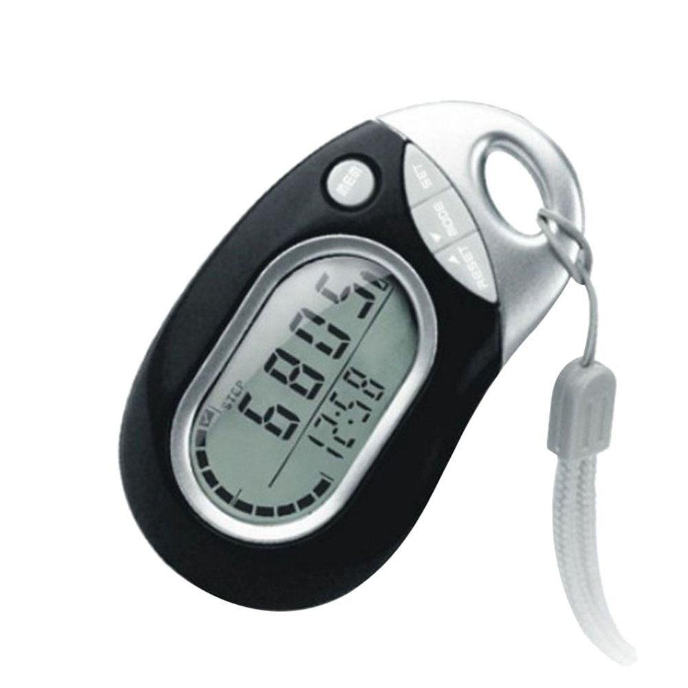 Professional Portable Digital LCD Pedometer Outdoor Sports Walking Running Step Counter Meter - iDigiBay
