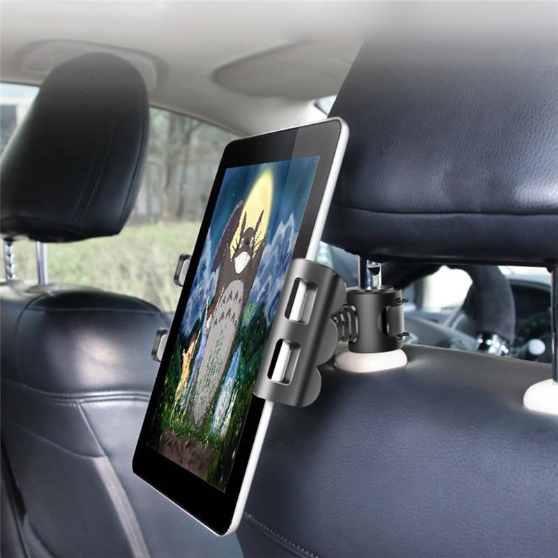 Car Tablet Stand Holder for IPAD Tablet Accessories Universal Tablet Stand Car Seat Back Bracket For 4-11 Inch Tablet - iDigiBay