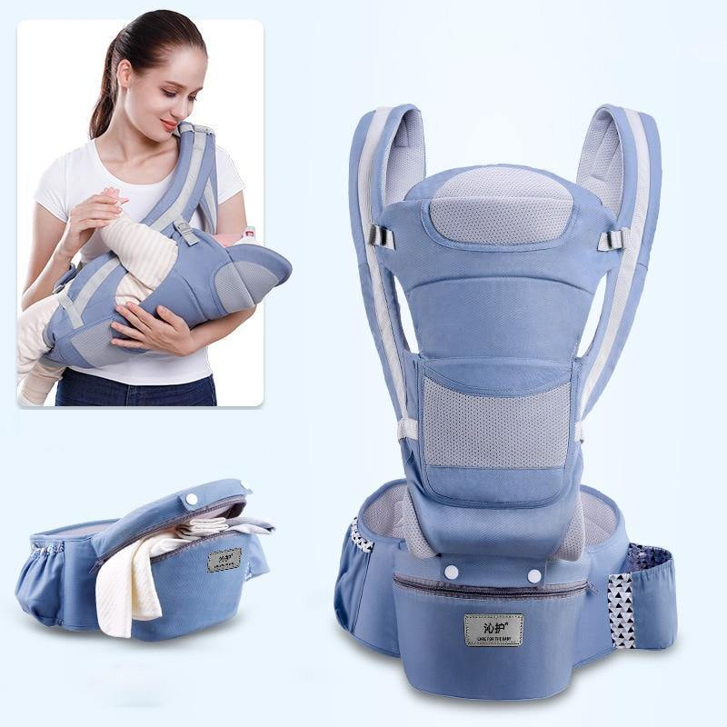 3 In 1 Front Facing 0-48 Month Ergonomic Baby Carrier Infant Baby Hipseat Carrier - iDigiBay