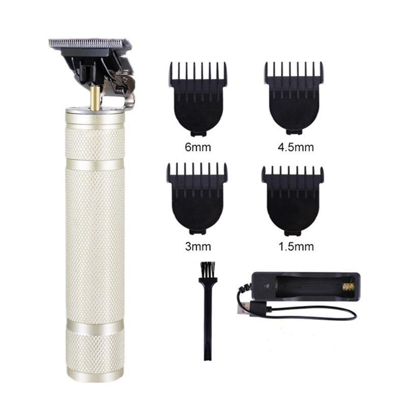 USB Rechargeable T9 Baldheaded Hair Clipper Electric Hair trimmer Cordless Shaver Trimmer Hair Cutting Machine - iDigiBay