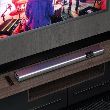 BlitzWolf® BW-SDB2 XR Wireless Soundbar with 40W 2.0 Audio Channel, 4 Speakers & 2 Low-Frequency Radiators, Multi-interface, Multi Scene Modes, Touch Screen - iDigiBay