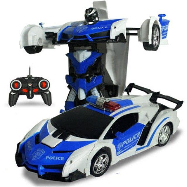 2 in 1 Robot Car No Touching Transformed - iDigiBay