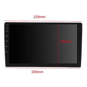 iMars 9 Inch 2DIN Android 8.1 Quad Core Touch Screen GPS Car Stereo Radio - iDigiBay